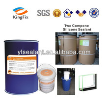 Adhesive structural glazing silicone sealant highly resistance