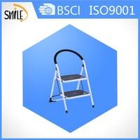 2 step steel ladder with en131 approved wide step ladder steel folding step ladder