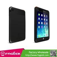 Fogeek LOVE MEI Series Metal + Silicone Cover for iPad Mini / iPad Mini 2 Tempered Glass Screen Protector Case