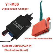 yatour module usd sd mp3 audio adapter plug mercedes