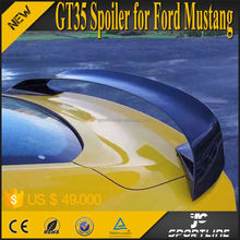 GT35 Style Carbon Fiber Mustang Racing Spoiler for Ford Mustang Coupe 15-16