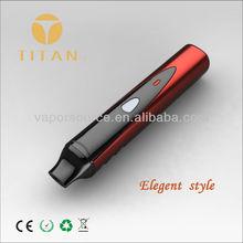 2014 smoking pen vaporizer Titan-1, dry herb wax portable vaporizer