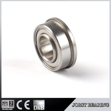 MICRO BEARING SFRW188ZZ SINGLE ROW BEARING FLANGED SHIELDED BEARING WITH EXTENDED INNER