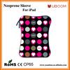 Neoprene material sleeve for ipad air 2 with various choice