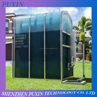 PUXIN Family Size Portable Assembly Membrane Surface mounted Biogas digester to food waste