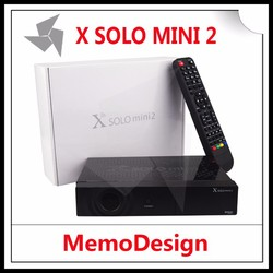 X Solo Mini 2/ Mini Solo Satellite TV Receiver with BCM7358 DVB-S2 Enigma 2 Linux Set Top Box Support USB WiFi IPTV Youtube