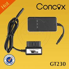 China Manufacturer Concox Smart OBD II GT230 GPS Tracker OBD II Remote Diagnosis System