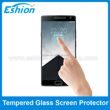 9h hardness tempered glass screen protector for Oneplus two mobile phone screen protector
