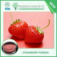 Natural fruit powder supplier provide strawberry flavour powder,Fragaria powder,strawberry juice powder