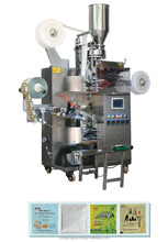 C18 Automatic Moringa Tea Bag Packaging Machine with thread, tag and envelope