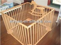 TB-C040-2,Wooden baby playpen/wooden baby furniture/wooden baby bed/crib
