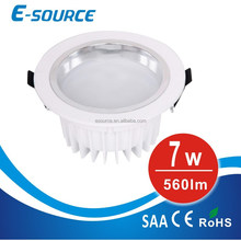7W LED down light Die-casting Aluminium with CE SMD5730