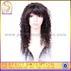Wholesale Brazilian Virgin Human Kinky Curly Full Lace Stock Hair Wig