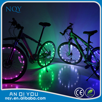 2015 latest color lighted led bicycle wheel light bicycle light