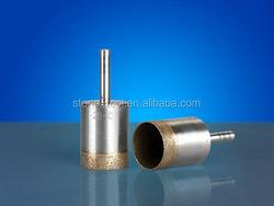 Diamond Core Drill Bits for Drilling Glass Tiles