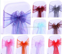 Decorative Organza Chair Sashes For Banquet