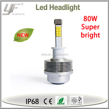wholesale new production 100 watt 6000 lumen car h4 led headlight bulbs