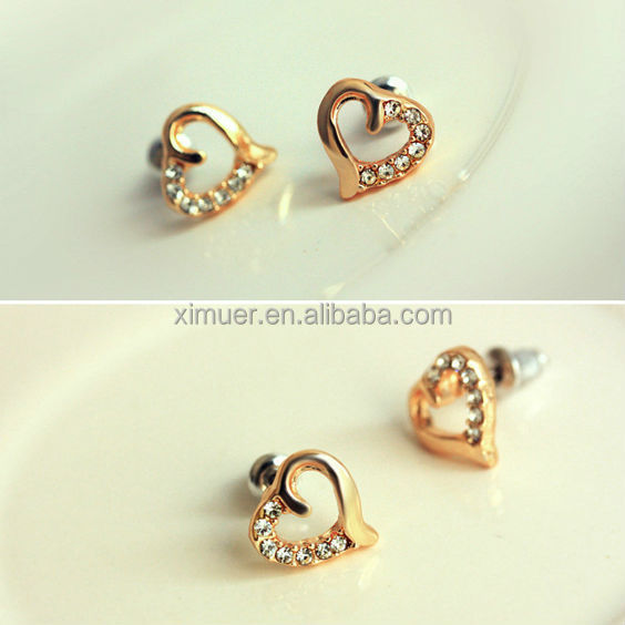 new design jewelry earrings fashion gold earring view