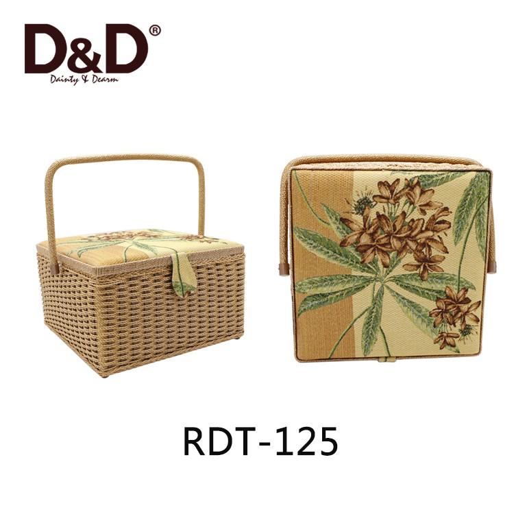 D & D caja de cesta de regalo de pascua de madera hechos a mano de ...