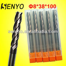 Senyo Solid Carbide Standard End Mill Cutter Size/Tungsten Carbide Straight Shank End Mills Manufacture/Micro Shell EndMill Tool
