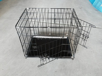 good quality foldable iron wire dog cage