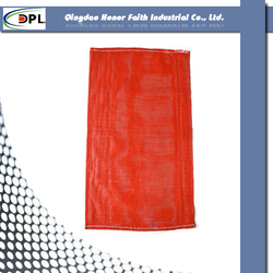 Inexpensive Products superior quality 2015 new type pe raschel mesh bag for potato onion packing