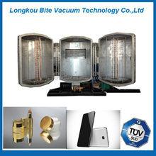 gold pen/plastic mobile phone cases vacuum metallizing machine/equipment/plant