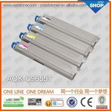 C9655 original quality color laserjet toner for oki printing copier toner