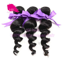 Wet and wavy hair weave, best promotion brazilian human hair loose wave Asteria hair products