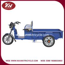 2015 famous kavaki brand hot sale three wheel electric tricycle for cargo transportation cheap price in guangzhou factory