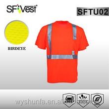 safety clothing dubai wholesale sports running workwear polyester t-shirt