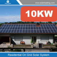 Home use 10kw solar photovoltaic system include monocrystalline solar panel also with dc to ac inverter