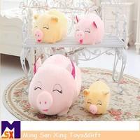 Hot sale Lies prone pig pillow doll