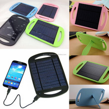 light and thin mini usb portable solar panel charger