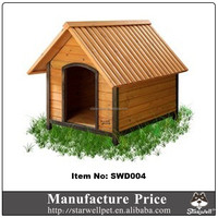 Factory price custom cheap wooden dog house for sale