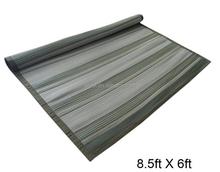 6x9' Striped woven Indoor Rug