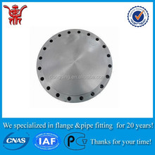 ANSI B16.5 class 150# astm a105 carbon steel butt weld forged pipe blind flange