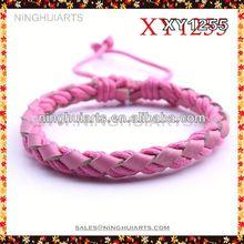 zip bracelet mixed coloured beads
