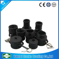 plastic pipe fitting cam lock quick irrigation fittings\/couplings