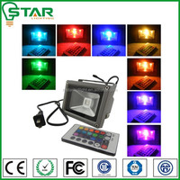 50w/70w/100w/150w color changing outdoor IR led flood light with motion sensor