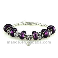 10 pcs/lot.,50 kinds, free shipping EMS, Hot selling women fahsion charm bracelets for Hallowmas gifts