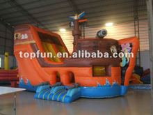 2012 hot selling PVC inflatable giant Pirate slide(inflatable water slide is available and OEM service offered, customized)