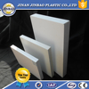 White hard heat resistant plastic sheet pvc