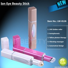 Ionic anti-wrinkle eye massage pen for skin tightening and whitening