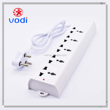 110V-250V PC Plastic Fireproof Extension Electrical Power Strip With CE ROHS Approval