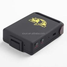 Manufacturer original real time elderly people gprs gps locator tk102-2 with GLONASS/GPS/LBS tracking