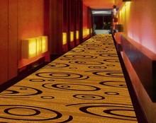 Decorative corridor nylon printed carpets
