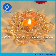 for Indian national flower country favor wholesaler offered favorable discount wholesale lotus flower candle holder