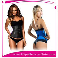 2015 Best Selling Sexy Woman tv photo abdominal corset with %100 Latex