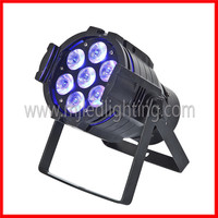Professional 10w 4in1 mini par can alumimun rgbw led par 64
